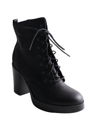 OMG High Heel Stiefel schwarz Business-Look