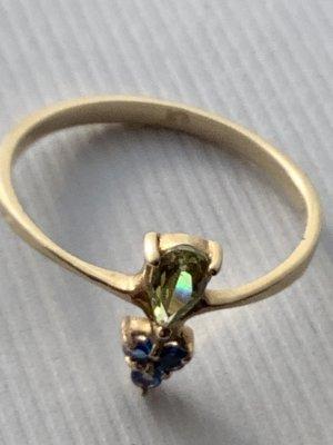 Margova Gold Ring multicolored