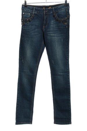 Onado Slim Jeans blau Casual-Look