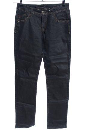 Onado Straight-Leg Jeans schwarz Casual-Look