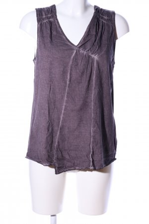 Once Tanktop lila Casual-Look