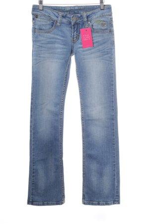 One green elephant Boot Cut Jeans kornblumenblau Casual-Look