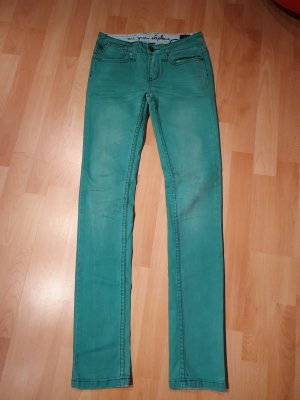 One green elephant Jeans slim fit verde