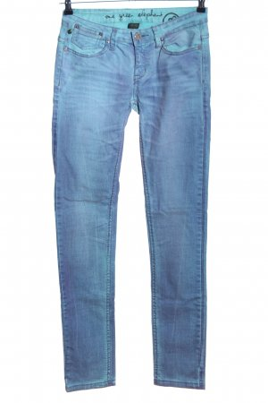 One green elephant High Waist Jeans blau Casual-Look
