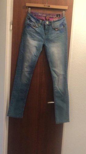 One Green elephant Jeans skinny hellblau Waschung
