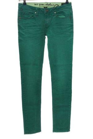 One green elephant Röhrenhose grün Casual-Look