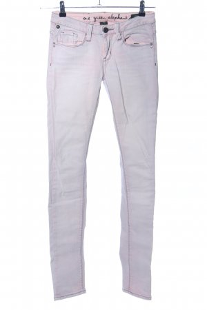 One green elephant Tube Jeans light grey-pink casual look