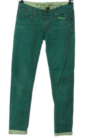 One green elephant Vaquero skinny verde look casual