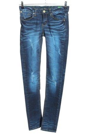 One green elephant Skinny Jeans blau Casual-Look