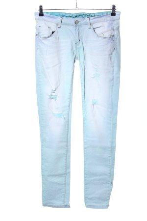 One green elephant Skinny Jeans türkis Street-Fashion-Look
