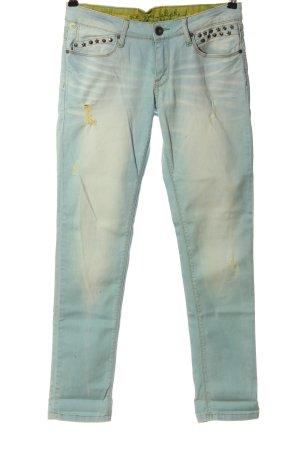 One green elephant Jeans skinny blu stile casual