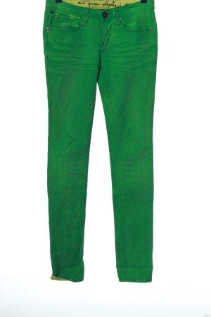 One green elephant Jeans skinny verde stile casual
