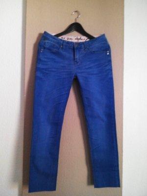 One green elephant Skinny Jeans mit niedrigem Bund, Größe 38