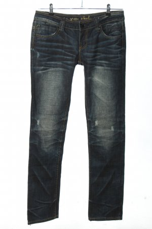 One green elephant Low Rise jeans blauw casual uitstraling