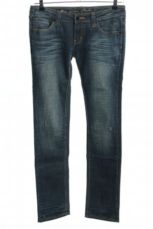 One green elephant Jeans slim fit blu stile casual