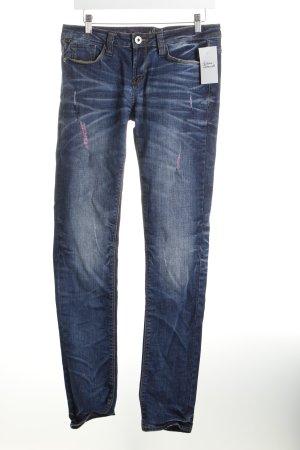 One green elephant Slim Jeans dunkelblau Casual-Look