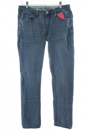 One green elephant Slim Jeans kornblumenblau Casual-Look
