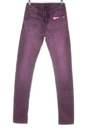 One green elephant Slim Jeans purpur Jeans-Optik