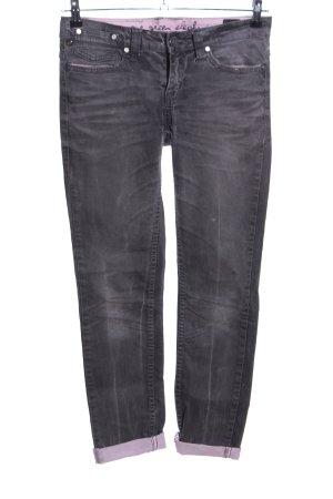 One green elephant Straight-Leg Jeans hellgrau-pink Casual-Look