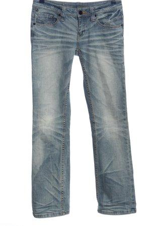 One green elephant Straight-Leg Jeans blau Casual-Look