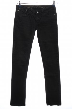 One green elephant Straight-Leg Jeans schwarz Casual-Look