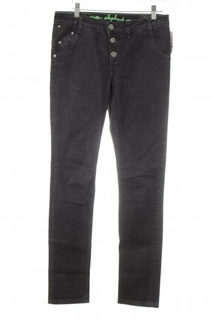 One green elephant Straight-Leg Jeans taupe Casual-Look