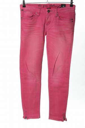 One green elephant Stretch Jeans pink Casual-Look