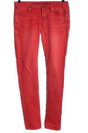 One green elephant Stretch Jeans rot Casual-Look