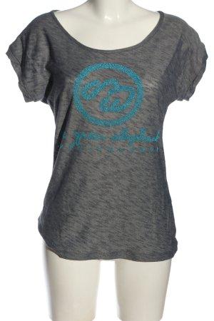 One green elephant T-shirt Stampa a tema elegante