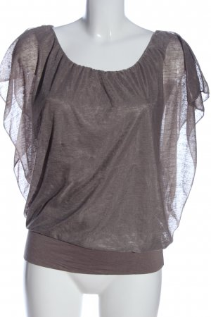 One love by colloseum Kimono Blouse light grey casual look