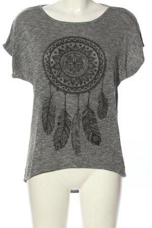 One love by colloseum Camisa holgada gris claro moteado look casual