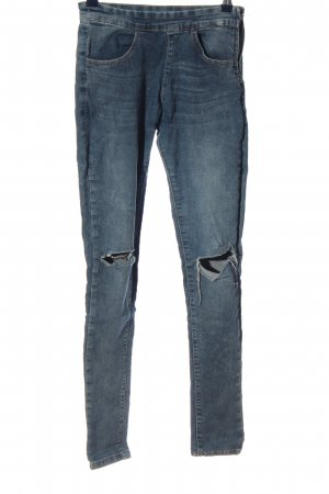 One love by colloseum Stretch Jeans blau Casual-Look
