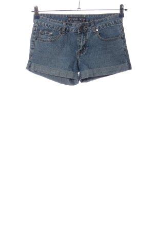 one love denim Jeansshorts blau Casual-Look