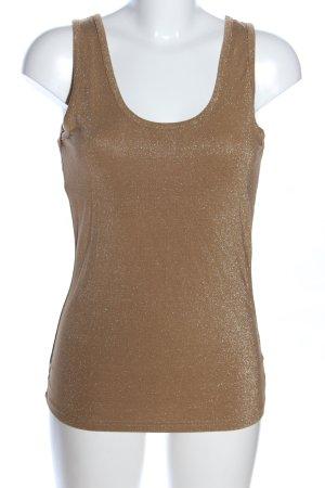 Trägertop bronzefarben-silberfarben Casual-Look
