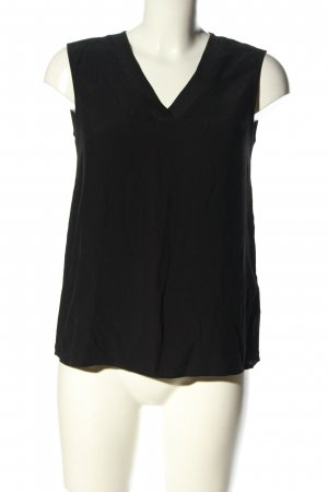 One More Story ärmellose Bluse schwarz Casual-Look