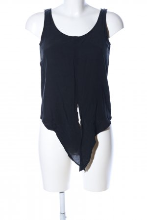One More Story Basic Top schwarz Casual-Look