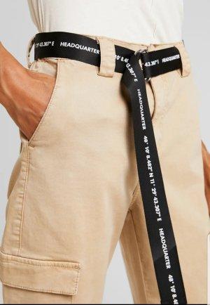 One More Story Pantalone cargo crema