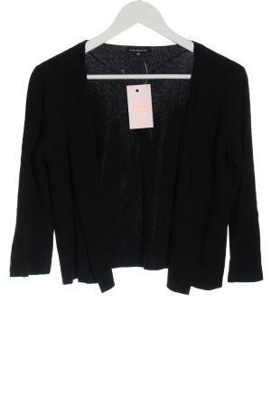 One More Story Boléro en tricot noir style décontracté