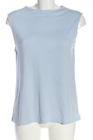 One More Story Strickshirt blau Casual-Look
