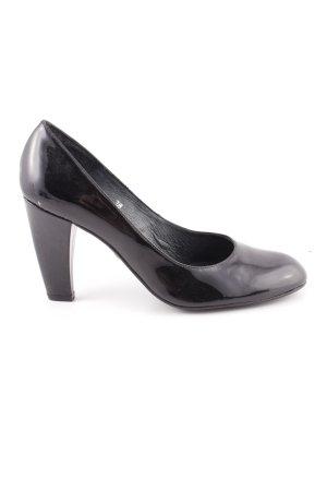One of a kind High Heels schwarz Business-Look