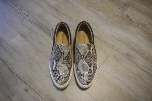 One of a kind Slipper Sneaker echt Leder Phytonoptik Reptiloptik Gr. 40