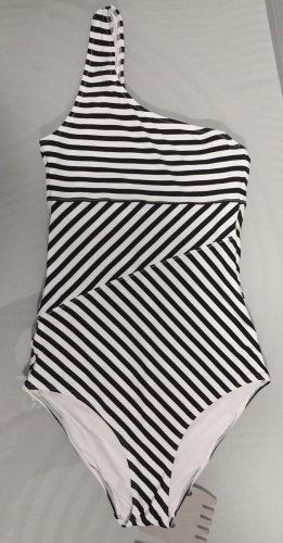 H&M Traje de baño blanco-negro