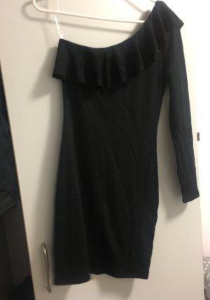 H&M Robe de cocktail noir polyester