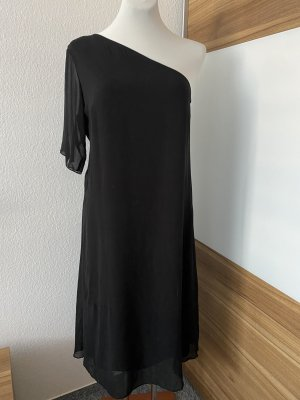 Vero Moda Sukienka na jedno ramię czarny