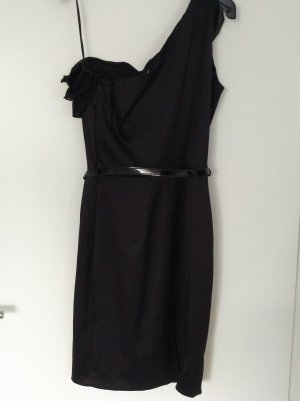 Yessica One Shoulder Dress black