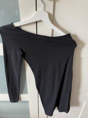 Topshop Robe asymétrique noir