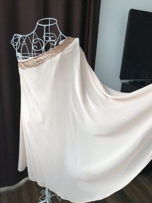 Apart  glamour One Shoulder Dress apricot