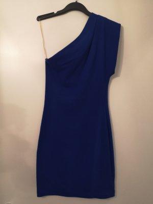 American Apparel Sukienka na jedno ramię niebieski
