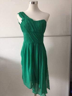 H&M One Shoulder Dress green