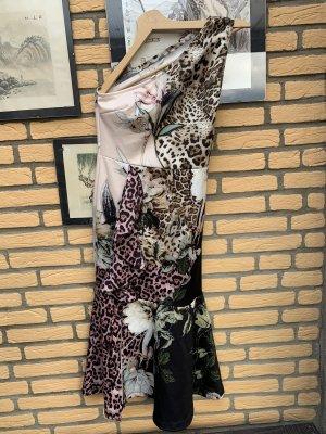 BODY FLIRT Sukienka na jedno ramię Wielokolorowy